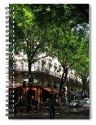 Classic Paris 3 Spiral Notebook