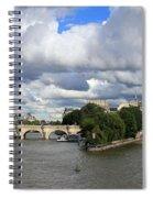 Classic Paris Spiral Notebook