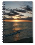 Classic Sunset Spiral Notebook