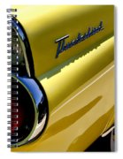 Classic T-bird Tailfin Spiral Notebook