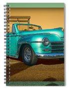 Classic Teal Convertible Spiral Notebook
