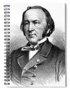 Claude Bernard, French Physiologist Spiral Notebook