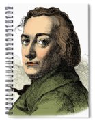 Claude-louis Berthollet, French Chemist Spiral Notebook