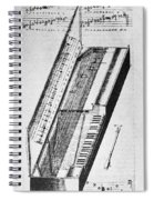 Clavichord, 1636 Spiral Notebook