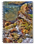 Clear Contact Spiral Notebook