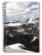 Clear Day On Rendezvous Mountain Spiral Notebook