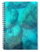 Clear Water 3 Ionian Sea Series Spiral Notebook