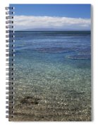 Clear Water And Coral Spiral Notebook