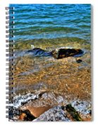 Clear Waves  Spiral Notebook