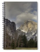 Clearing At Half Dome Spiral Notebook