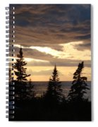 Clearing Sky Spiral Notebook