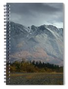 Clearing Storm Over North Canol Road Spiral Notebook