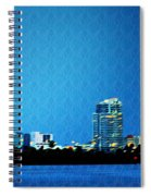 Clearwater At Night Spiral Notebook