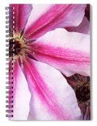 Clematis Close Up Spiral Notebook