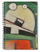 Clergy Pants On Fire Spiral Notebook