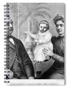 Cleveland Family, C1893 Spiral Notebook
