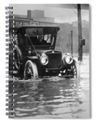 Cleveland: Flood, C1913 Spiral Notebook