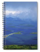 Clew Bay, Co Mayo, Ireland View Of A Spiral Notebook
