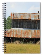 Clewis Family Tobacco Barn II Spiral Notebook