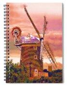 Cley Windmill 2 Spiral Notebook