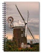 Cley Windmill Spiral Notebook