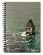 Cliff Of Moher 17 Spiral Notebook
