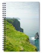 Cliff Of Moher 24 Spiral Notebook