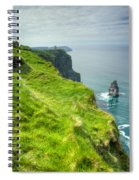 Cliff Of Moher 25 Spiral Notebook