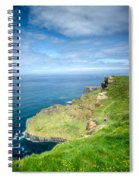 Cliff Of Moher 27 Spiral Notebook
