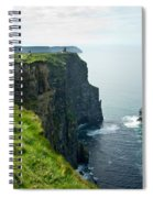 Cliff Of Moher 28 Spiral Notebook