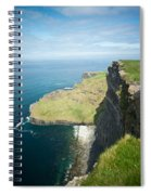 Cliff Of Moher 30 Spiral Notebook