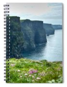 Cliff Of Moher 33 Spiral Notebook