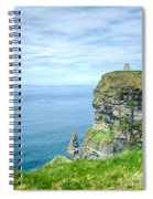 Cliff Of Moher 34 Spiral Notebook