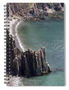Cliffs At Grand Manan Island, Canada Spiral Notebook
