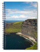 Cliffs Of Mohar Spiral Notebook