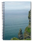 cliffs of Moher 36 Spiral Notebook