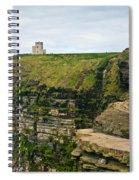 cliffs of Moher 38 Spiral Notebook