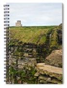 cliffs of Moher 39 Spiral Notebook