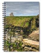 cliffs of Moher 40 Spiral Notebook