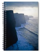 Cliffs Of Moher,co Clare,irelandview Of Spiral Notebook