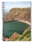Cliffs On Grand Manan Island Spiral Notebook