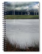 Climate Changed Storm Spiral Notebook