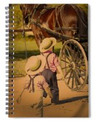 Climb Aboard Spiral Notebook