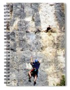 Climbing High Spiral Notebook