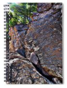 Climbing Rocks And Trees Spiral Notebook