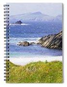 Clogher Beach, Blasket Islands, Dingle Spiral Notebook