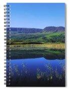 Clonee Loughs Co Kerry, Ireland Lake Spiral Notebook