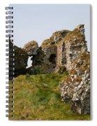 Clonmacnoise Castle Ruin - Ireland Spiral Notebook