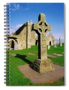 Clonmacnoise, Co Offaly, Ireland High Spiral Notebook