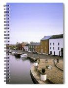 Cloondara, Co Longford, Ireland Town At Spiral Notebook